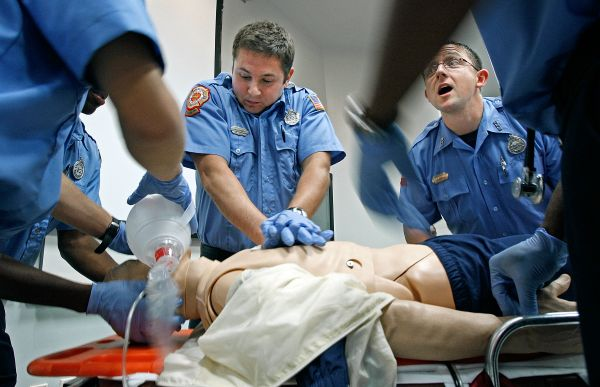 paramedics career